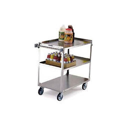 Lakeside 459 22-3/8wx54-1/8dx37-1/4h Stainless Steel Utility Cart