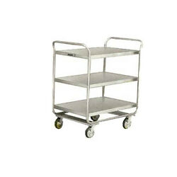 Lakeside 222 30wx20dx35-3/4h Stainless Steel Utility Cart