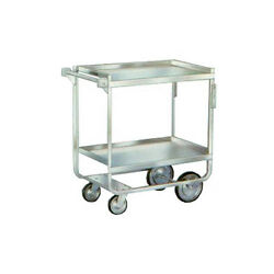 Lakeside 721 19-3/8x32-5/8x35-1/2 Stainless Steel Welded Utility Cart