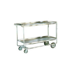 Lakeside 758 22-3/8x54-5/8x37 Stainless Steel Welded Utility Cart