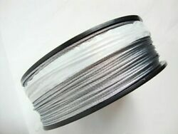 Galvanized Wire Rope Cable 1/8, 7x7 100, 200, 250, 500,1000 Ft