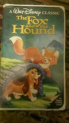 The Fox And The Hound Vhs 1994 Rare Black Diamond Classic Collectorand039s Item