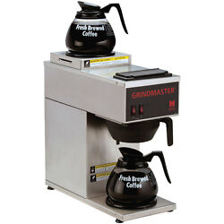 Gmcw Cpo-2p-15a Single Portable S/s Coffee Brewer W/ 2 Warmers-top And Bottom
