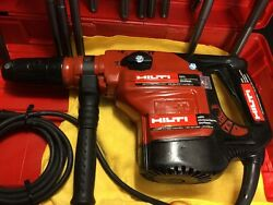 Hilti Te 56 Preowned Free Grinder Set Of Bits A Lot Of Extras Fast Ship