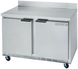 Beverage-air Wtr36ahc 8.5 Cuft 36 Wide Two Section Work-top Refrigerator