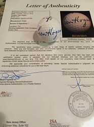 Ben Hogan Signed Hogan 392 Golf Ball Jsa Loa Certified Autograph Hof