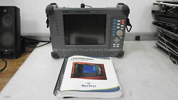 Nettest Cma4000i Optical Test System W/ Operators Manual And Case - No Power