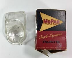 1962 Plymouth, Dodge Wagon Back Up Lenses, New Old Stock 2189489