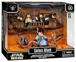 Disney Parks Star Wars Weekends Sarlacc Attack 5 Pc Action Figure Set New 2012