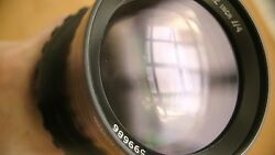 Cooke Taylor Hobson 12 Inch F4 Military Aerial Lens Large Format 4x5 Fuji Gfx