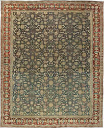 Antique Indian Agra Carpet BB3151