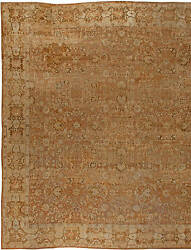 Oversized Antique Indian Agra Carpet BB5675