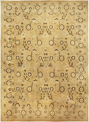 Oversized Antique Indian Agra Rug BB5089