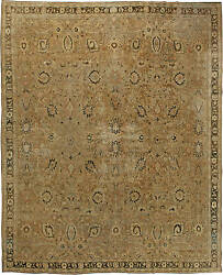 Oversized Antique Indian Rug BB6090