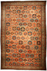 Oversized Antique Persian Malayer Rug (size adjusted) BB4653