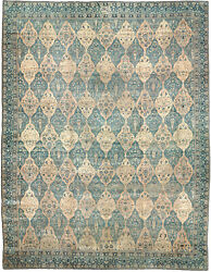 Oversized Antique North Indian Carpet BB2023