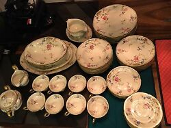 Sunnyvale China 8 Place Settings By Castleton With Accessories