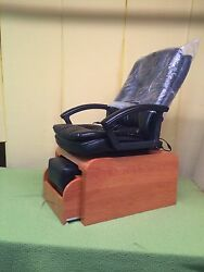 Pedicure Chair With Massage And No Plumbing Needed Footsie Bath +10 Liners
