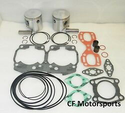 Wsm 010-818-12 Seadoo 787 800 +.50mm Top End Rebuild Piston Kit Xp Gsx Gtx Spx
