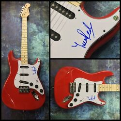 Gfa Yes Band Guitarist Trevor Rabin Signed Autograph Electric Guitar Ad1 Coa