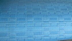50s 60s Oem Gm Seat Upholstery Fabric Huge Lot Blue Vintage Chevy Pontiac