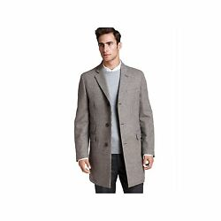 Kent And Curwen Menand039s England 100 Wool Coat Grey