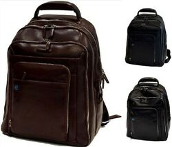 Ziano Grande Uom Woman Leather Piquadro Backpack Big Men Woman Leather OUTCA181