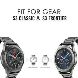 Metal Stainless Steel Strap Link Band For Samsung Galaxy Watch Active 46mm 42mm