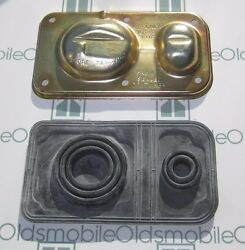 1970-1980 Oldsmobile Master Cylinder Cover And Diaphragm. Correctly Color Plated