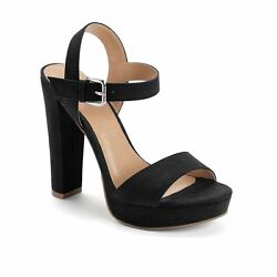 NWT Women's LC Lauren Conrad Bow High Heel Sandals Shoes Choose Size Black