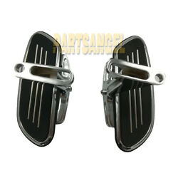 Streamline Passenger Foot Floor Board For 93-18 Harley Touring Road Street Glide
