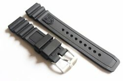 Luminox Rubber Watch Band Fit 3000 3100 3200 3400 3900 8400 Navy Seal Colormark