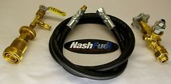 3/4 Ngt Male Pol 1-5/16 1-3/4 Acme Liquid Propane Transfer Kit Tank Grill 12and039