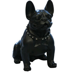 Large statue of French Bulldog