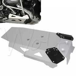 Motorcycle Silver Aluminium Skid Plate Engine Guard For BMW R 1200GS LC 14 2015