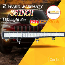 36inch 234w Led Light Bar Work Flood Spot Combo Offroad 4wd Driving For Jeep Suv