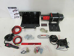 Yamaha Grizzly 660 4x4 Quadboss 2500lb Winch And Mount Dyneema Rope 2002-2008