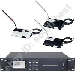 MICWL A450 Digital Video Tracking Wired Microphone System for Large Meeting Room