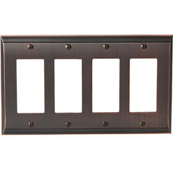 Amerock CANDLER Wall Plate Cover Toggle Rocker Plug Oil Rubbed Bronze Color A365