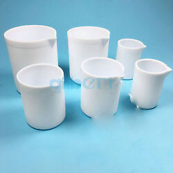 30-2000ml White Measuring Beaker Ptfe Silicone Lab Ware High Quality
