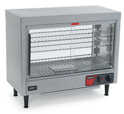 Nemco 6460 Lighted Heated Deluxe Display Case W Humidity