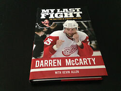 Darren Mccarty Autograph Book Red Wings