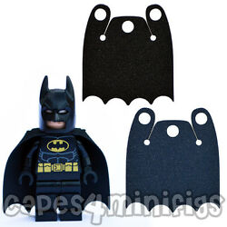 3 CUSTOM #x27;Over shoulder#x27; bite capes for your Lego Batman minifig. CAPE ONLY GBP 2.25