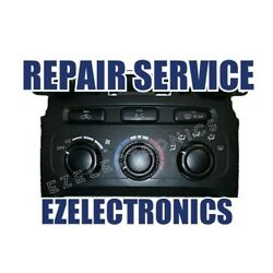 2001 TO 2007 Toyota Highlander AC Heater Climate Control REPAIR SERVICE