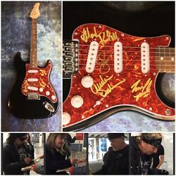 GFA Jack Russell Band * GREAT WHITE * Signed Electric Guitar PROOF AD2 COA