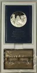 1997 Proof Franklin Mint Clinton Presidential Inaugural Sterling Silver Medal