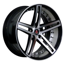 22 Axe Ex20 Alloy Wheels Fits Range Rover Vogue Sport Discovery Black Pol 5x120