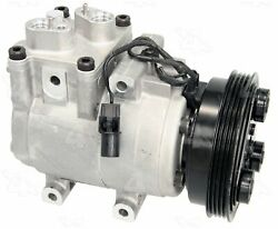 Factory Air By 4 Seasons New Ford Hs15 Compressor W/ Clutch 58191