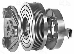 Factory Air by 4 Seasons New Ford FS10 Clutch Assembly w/ Coil 47874