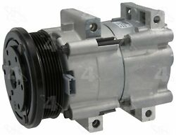 Factory Air by 4 Seasons New Ford FS10 Compressor w/ Clutch 58130